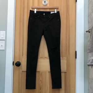rag & bone twill chevron ombré legging (size 29)